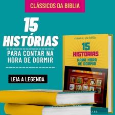 15 HISTÓRIAS PARA CONTAR NA HORA DO SEU FILHO (A) DORMIR